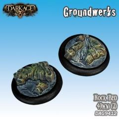 40mm Groundwerks Base Inserts - Rock Bed
