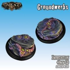 40mm Groundwerks Base Inserts - Infestation