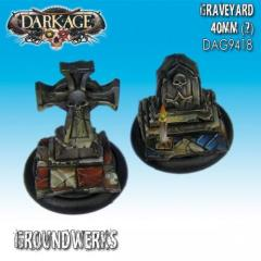 40mm Groundwerks Base Inserts - Graveyard
