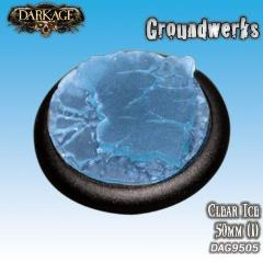 50mm Groundwerks Base Inserts - Clear Ice