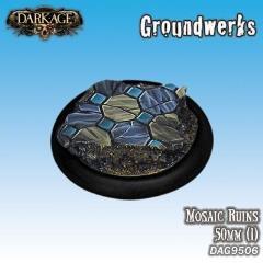 50mm Groundwerks Base Inserts - Mosaic Ruins