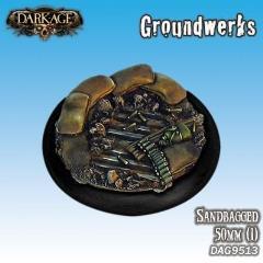 50mm Groundwerks Base Inserts - Sandbagged