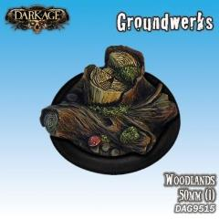 50mm Groundwerks Base Inserts - Woodlands