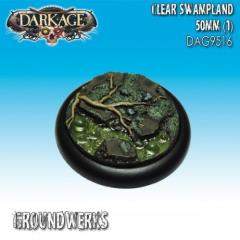 50mm Groundwerks Base Inserts - Clear Swampland