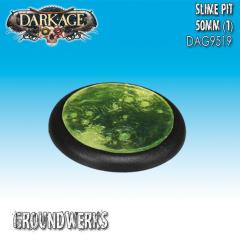 50mm Groundwerks Base Inserts - Slime Pit