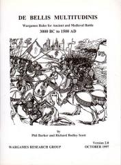 De Bellis Multitudinus - Wargames Rules for Ancient and Medieval Battles 3000BC - 1500AD (Version 2.0)