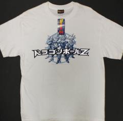Raised Japanese T-Shirt - White (L)