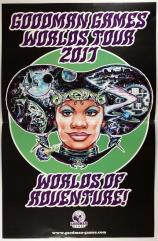 Poster - Dungeon Crawl Classics Worlds Tour 2017