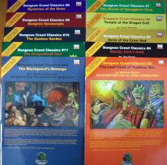Dungeon Crawl Classics Super Pack Collection d20 #1 (DCC's #2 and #4-12)