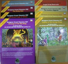 Dungeon Crawl Classics Super Pack Collection d20 #2 (DCC's #13-15, 17, 23 and #25-27)