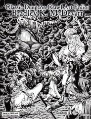 Classic Dungeon Crawl Art Folio - Bradley K. McDvitt