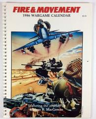 1986 Fire & Movement Wargame Calendar