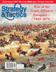 #245 w/War of the Triple Alliance - Paraguay 1865-1870