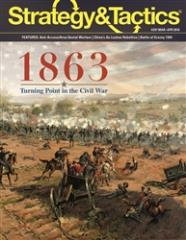 #297 w/1863 - Turning Point in the Civil War