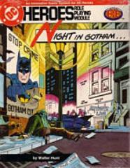 Night in Gotham...