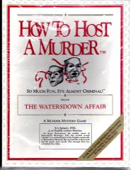Watersdown Affair, The (1st Edition)
