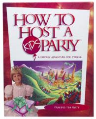 How to Host a Kids Party - Princess Tea Party