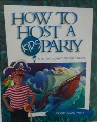 How to Host a Kids Party - Pirate Island Party