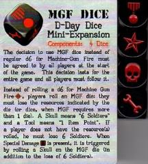 D-Day Dice - MGF Expansion (Kickstarter Exclusive)