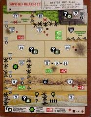D-Day Dice Sword Beach Map Pack (Kickstarter Exclusive)
