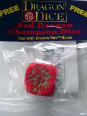 Red Dragon Champion Die - GenCon Promo