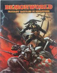 Demonworld Advertisement Poster