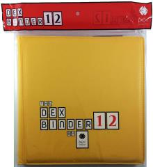 Dex Binder 12 - Yellow