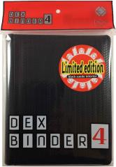 Dex Binder 4 Limited Edition - Black