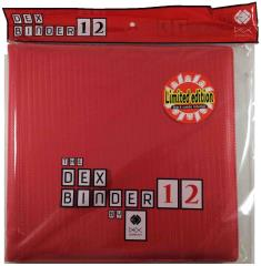 Dex Binder 12 Limited Edition - Red