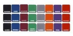 GM Condition Tiles - Black