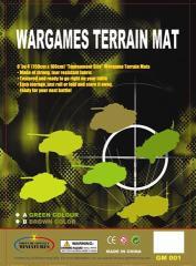 Wargames Terrain Mat - Green