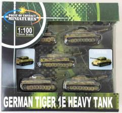 German Tiger 1E - Tan w/Green Stripes