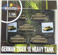 German Tiger 1E - Tan w/Green & Brown Camo