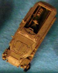 German Sd Kfz 251/1C - Tan