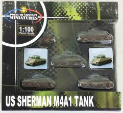 US Sherman M4A1 - Olive Drab
