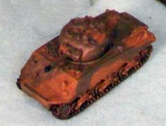 US Sherman M4A1 - Olive Drab w/Brown Splotches