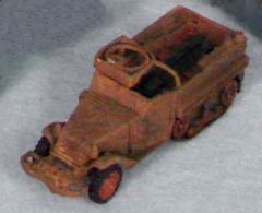 US M3A1 Halftrack - Olive Drab