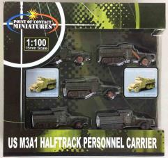 US M3A1 Halftrack - Brown Violet
