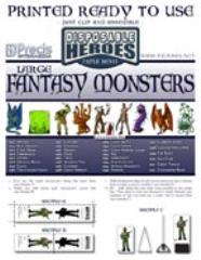 Large Fantasy Monsters (30)