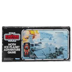 Star Wars - Hoth Ice Planet Retro Game