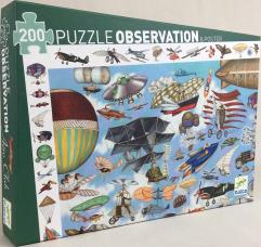 Observation Puzzle - Aero Club