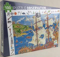 Observation Puzzle - Pirates