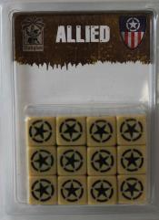 Dice Set - Allied, Babylon Pattern (24)