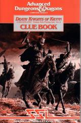 Death Knights of Krynn Clue Book