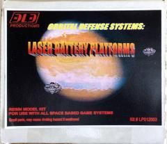 Orbital Defense Systems - Laser Battery Platforms