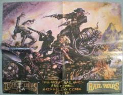 Deadlands/Great Rail Wars Promo Poster