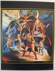 Dragonlance Limited Edition Art Print Set - 8 Prints!