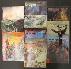 Dragon Magazine Collection - Issues #121-130