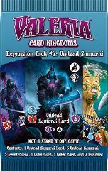 Valeria Card Kingdoms Expansion Pack #2 - Undead Samurai