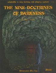 Nine Doctrines of Darkness, The #1